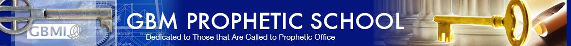 GBM Prophetic School